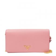 PRADA Handbag 1ZH029 QWA F0442 Calfskin Pink
