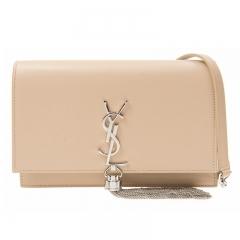 YSL Saint Laurent Handbag 452159 C150N 9906 Calfskin Light Brown
