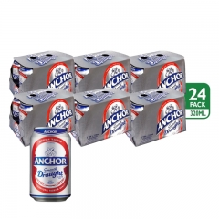 Anchor Smooth Draught Beer Can 320ml 1 Carton