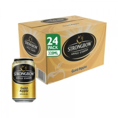 Strongbow Apple Ciders Gold Apple Can 320ml 1 Carton