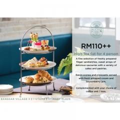 Malaysia High Tea Set for 4 - Delicious Restaurant