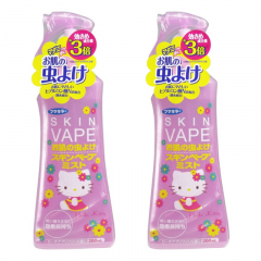 Japan Skin Vape Spray Mosquito Repellent with Hyaluronic acid Hello Kitty Limited Edition 200ml x 2