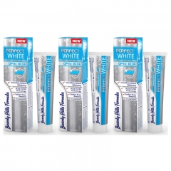 Beverly Hills Formula Perfect White Optic Blue Toothpaste 100 ml x 3
