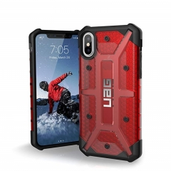 UAG iPhone X Plasma Case Magma