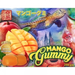 Sunshine Kingdom Mango Gummy Candy 200g x 3 Packs